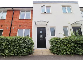 Thumbnail 3 bed terraced house to rent in Crediton Close, Bedford