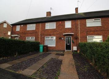 Thumbnail 3 bed terraced house for sale in Broadwood Road, Bestwood Park, Nottingham, Nottinghamshire