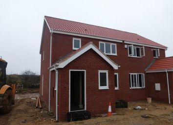 Thumbnail 3 bed semi-detached house for sale in Kings Drive, Bradwell, Great Yarmouth