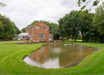 Thumbnail 4 bed detached house for sale in Stones Lane, Hogsthorpe, Skegness