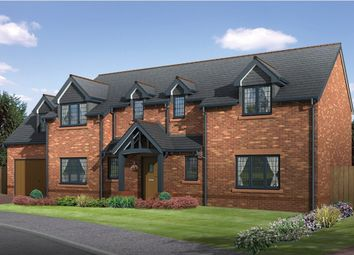 Thumbnail 5 bed detached house for sale in The Larches, Moor Lane, Wilmslow, Cheshire