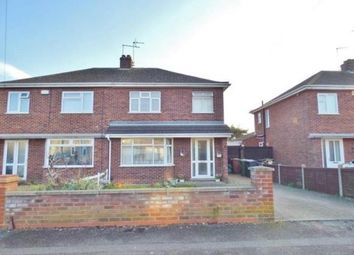 Thumbnail 3 bed semi-detached house for sale in Wright Avenue, Stanground, Peterborough, Cambridgeshire
