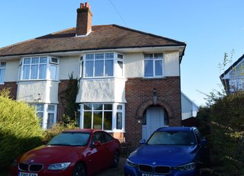 Thumbnail 3 bed semi-detached house to rent in Leslie Road, Parkstone, Poole
