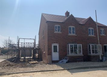 Thumbnail 3 bed semi-detached house for sale in Plot 6, The Casterton, Stickney Meadows, Stickney, Boston