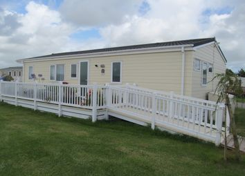 Thumbnail 2 bed mobile/park home for sale in Widemouth Fields Leisure Park Farm, Bude, Cornwall, 0Na