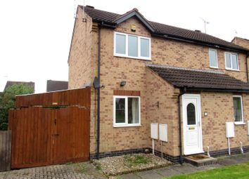 Thumbnail 2 bedroom semi-detached house to rent in Ervins Lock Road, Wigston