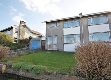 Thumbnail 4 bed semi-detached house for sale in Goonvrea Close, Newquay
