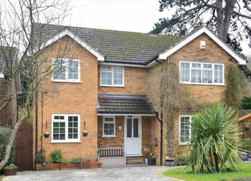 Thumbnail 4 bed detached house for sale in The Orchard, North Holmwood, Dorking, Surrey