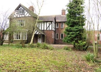 Thumbnail 6 bed detached house for sale in Beach Road, Hartford, Northwich