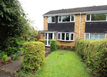 Thumbnail 3 bedroom end terrace house for sale in Tredington Close, Redditch