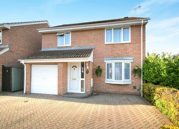 Thumbnail 4 bedroom detached house for sale in Borage Close, Swindon
