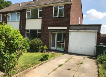 Thumbnail 3 bedroom semi-detached house to rent in Bishopton Close, Coventry