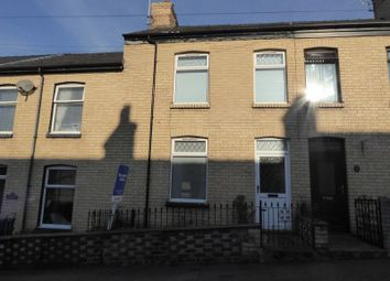 Thumbnail 2 bed terraced house for sale in Marcus Street, Caernarfon