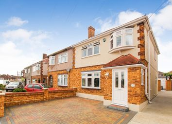 Thumbnail 3 bed semi-detached house for sale in Moray Way, Rise Park, Romford