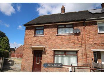 Thumbnail 3 bedroom end terrace house to rent in Bronallt, Wrexham