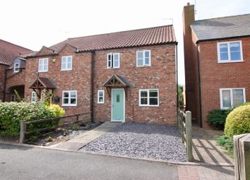 Thumbnail 3 bed terraced house for sale in Homefield Close, East Drayton, Retford