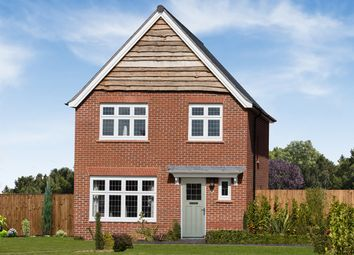 "Thumbnail 3 bedroom detached house for sale in ""Warwick"" at Cot Hill, Llanwern, Newport"