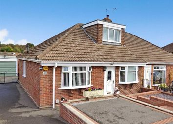 Thumbnail 3 bedroom semi-detached bungalow for sale in Coupe Drive, Weston Coyney, Stoke-On-Trent