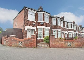 Thumbnail 3 bedroom end terrace house for sale in Meadowbank Road, Hull