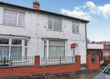 Thumbnail 3 bed semi-detached house for sale in Ashover Road, Evington, Leicester