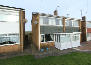 Thumbnail 2 bed semi-detached house for sale in Kirby Close, Blidworth, Nottinghamshire