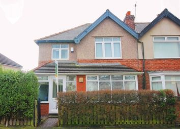 Thumbnail 3 bed semi-detached house for sale in Millersdale Road, Mossley Hill, Liverpool