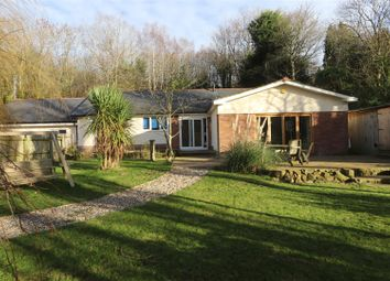 Thumbnail 5 bed detached bungalow for sale in Broughton Road, Lodge, Wrexham