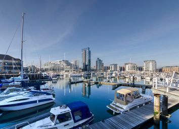 Thumbnail 2 bed flat for sale in Admirals Quay, Ocean Village, Southampton