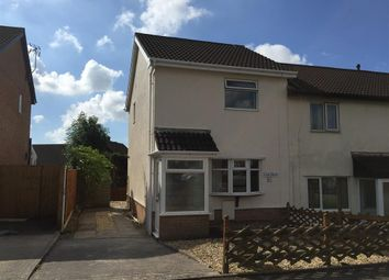 Thumbnail 2 bed end terrace house to rent in Bishopswood, Brackla, Bridgend
