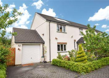 Thumbnail 4 bedroom semi-detached house for sale in Littlebridge Meadow, Bridgerule, Holsworthy