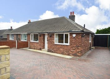 Thumbnail 1 bedroom semi-detached bungalow for sale in Orchard Road, Kirkheaton, Huddersfield
