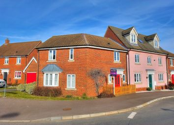 Thumbnail 3 bed semi-detached house for sale in Lord Nelson Drive, Norwich