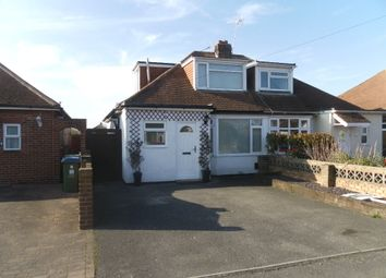 Thumbnail 3 bed semi-detached bungalow for sale in Bayly Avenue, Portchester