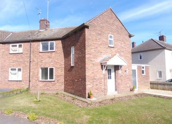 Thumbnail 2 bedroom semi-detached house for sale in Lindsey Close, Walton, Peterborough