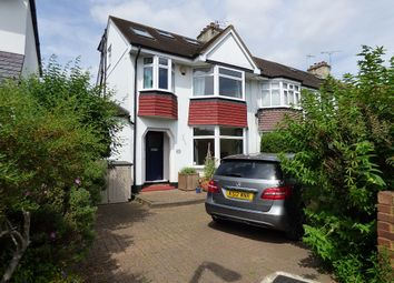 Thumbnail 4 bedroom semi-detached house to rent in Heathfield South, Twickenham