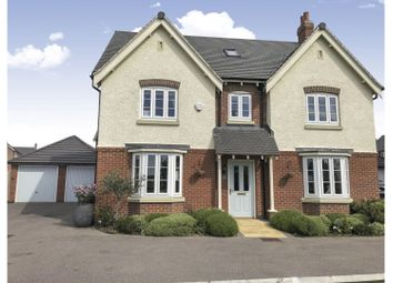 Thumbnail 5 bed detached house for sale in Bosworth Way, Leicester