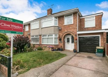 Thumbnail 4 bed semi-detached house for sale in Wyndham Crescent, Great Sutton, Ellesmere Port, Cheshire