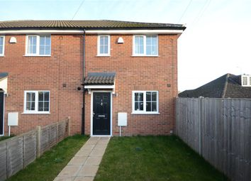 Thumbnail 3 bed end terrace house for sale in Macs Close, Padworth, Reading