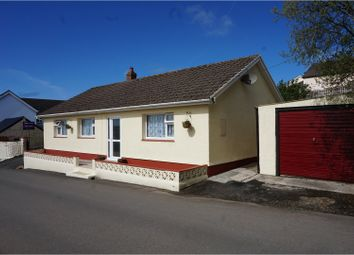 Thumbnail 3 bed detached bungalow for sale in Cosheston, Pembroke Dock