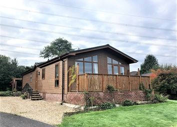 Thumbnail 3 bed mobile/park home for sale in The Cedars, Otter Valley Park, Honiton