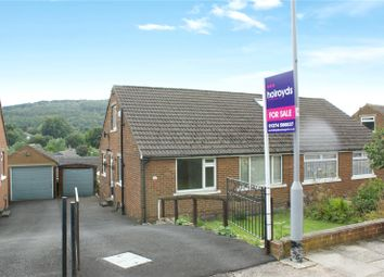 Thumbnail 2 bed semi-detached bungalow for sale in Chapel Road, Crossflats, Bingley