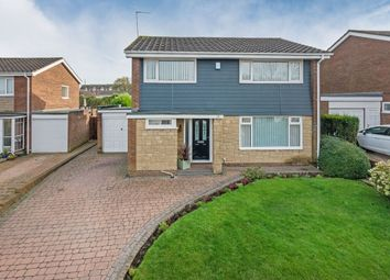 Thumbnail 4 bed detached house for sale in Glendale Close, Chapel Park, Newcastle Upon Tyne
