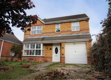 Thumbnail 4 bed detached house for sale in Darwin Court, Grimsby
