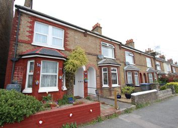 Thumbnail 3 bed end terrace house for sale in Downs Road, Walmer