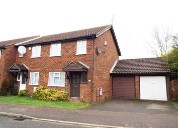 Thumbnail 3 bed semi-detached house for sale in Rodeheath, Luton, Bedfordshire