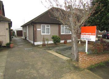 Thumbnail 2 bedroom semi-detached bungalow for sale in Eastwood Drive, Rainham, Essex