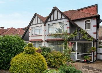 Thumbnail 4 bed semi-detached house for sale in Manor Drive, Wembley, Greater London