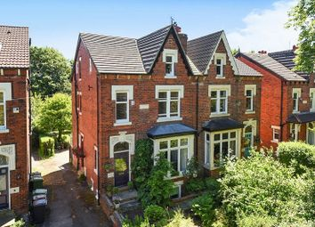 Thumbnail 7 bed semi-detached house for sale in Shaftesbury Avenue, Roundhay, Leeds