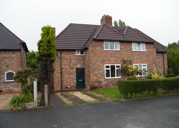 Thumbnail 3 bedroom semi-detached house for sale in Cromwell Road, Winnington, Northwich, Cheshire
