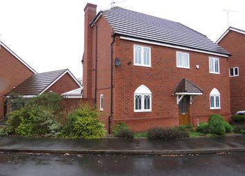 Thumbnail 4 bed detached house for sale in Wrens Croft, Heath Hayes, Cannock